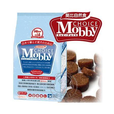莫比Mobby 自然食 - 羊+米《大型成犬》飼料-15kg