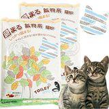 阿曼特《環保細│圓原味貓砂》單層貓砂盆專用10L*3包