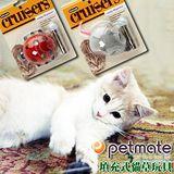 美國Petmate《瓢蟲│老鼠》填充式貓草玩具
