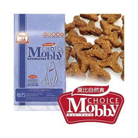 莫比Mobby 自然食《挑嘴貓》專用配方飼料-1.5kg