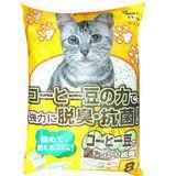日本環保紙貓砂》吸臭活性碳紙砂 (咖啡味|活性碳) 8L*2包