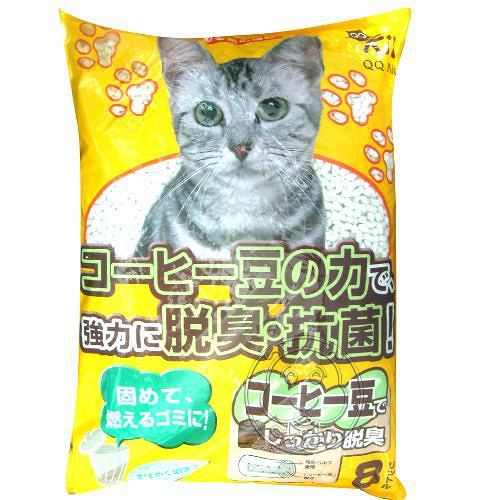 環保紙貓砂~吸臭活性碳紙砂 ^(咖啡味|活性碳^) 8L^~2包