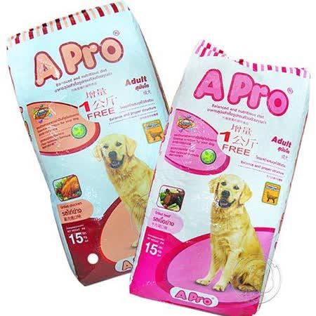 A-Pro》成犬專用飼料重量包15kg (2種口味)