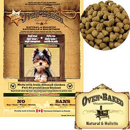 烘焙客Oven~Baked~雞肉口味~減肥犬老犬配方 1kg 送試吃包