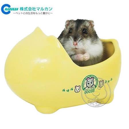 日本MARUKAN》MR-341 寵物鼠用可愛小便盆‧方便放置直鼠籠內