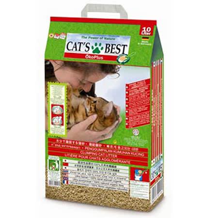 凱優《CAT'S BEST 》凝結木屑砂10L*1包