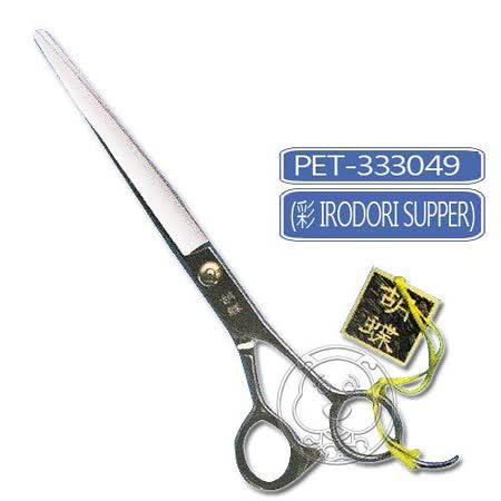剪刀系列 》7吋直剪-胡蝶彩不銹鋼Irodorl Super