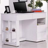 《卡帝》3.5尺白色電腦書桌