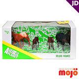 【MOJO FUN 動物模型】精裝禮盒-馬家族四件組 (387310)