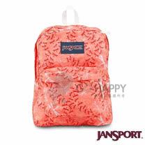 Jansport 25L 簡單休閒後背包(小蜜桃)