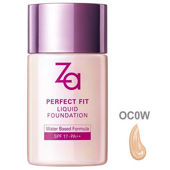 ZA裸妝心機輕潤粉底液OC0W/30ml