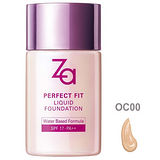 《ZA》裸妝心機輕潤粉底液OC00/30ml