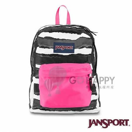 Jansport 25L 簡單休閒後背包(黑白斑紋)