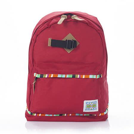 SKECHERS Backpack 紅色後背包-7450135