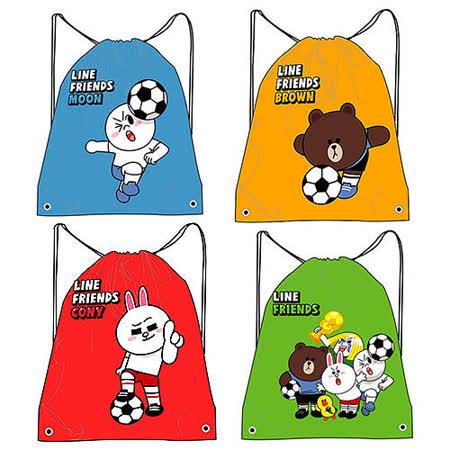 【LINE】足球系列束口後背包/束口帶/束口袋(五款可選)