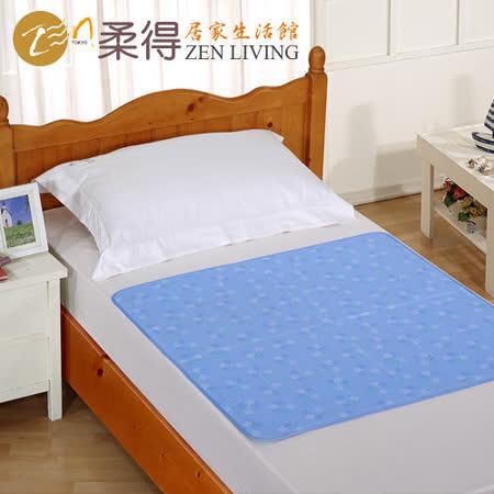 【柔得寢飾】ZEN日本ICE CoolGelmet 涼墊90x140公分 雪花款 ZME01AQ