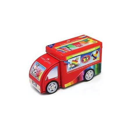 【Faber-Castell 輝柏 彩色筆】155072 卡車造型連接筆/水性彩色筆