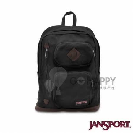 Jansport 26L HOUSTON 校園後背包(黑色)