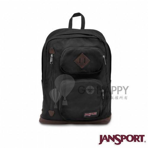 Jansport 26L HOUSTON 校園後背包^(黑色^)