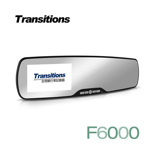 全視線F6000 超廣角120度 防眩光 超輕薄後視鏡1080P行車記錄器(送16行車紀錄器 埋線G microSDHC記憶卡)