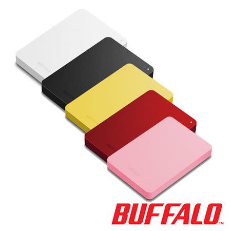 BUFFALO PNF系列2.5吋 1TB防震加密行動硬碟~送硬殼硬碟收納包