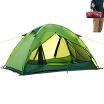 PUSH! 戶外登山休閒用品Silicone超強防水PU10000+ UPF30+雙層雙人四季帳篷