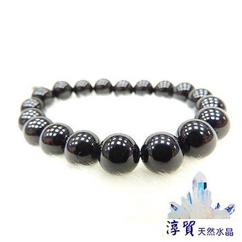 Blanco淳貿水晶 黑色電氣石(黑碧璽)手珠 10mm
