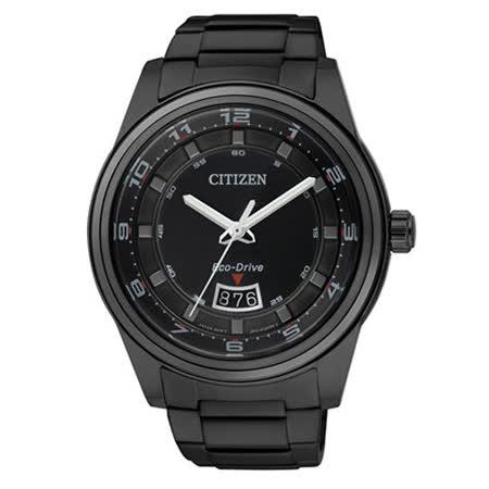 【CITIZEN】日系百搭光動能腕錶 AW1284-51E