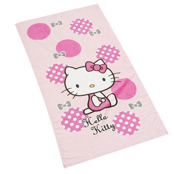 HELLO KITTY 印花大浴巾(74*140cm)