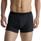【BVD】日本精紡交撚紗系列 基本款四角褲(黑色) XL