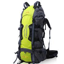 PUSH!登山戶外用品 70L專業型 登山背包 自助旅行背包 雙肩背包 贈防雨罩
