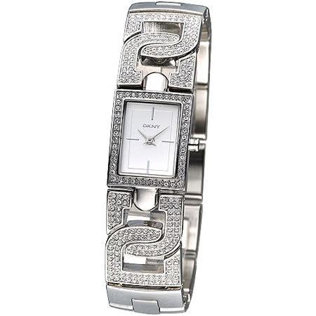 DKNY 晶鑽紐約風範仕女腕錶NY4934