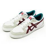 男 asics 亞瑟士 Onitsuka Tiger 經典潮流鞋 A-SIST 白紅綠 D4R3Y-0125