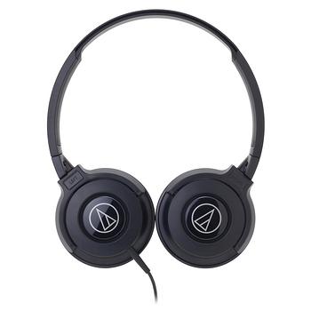 鐵三角ATH-S100黑潮流DJ款可摺疊耳罩式耳機