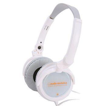 《鐵三角》白橘高傳真立體耳機