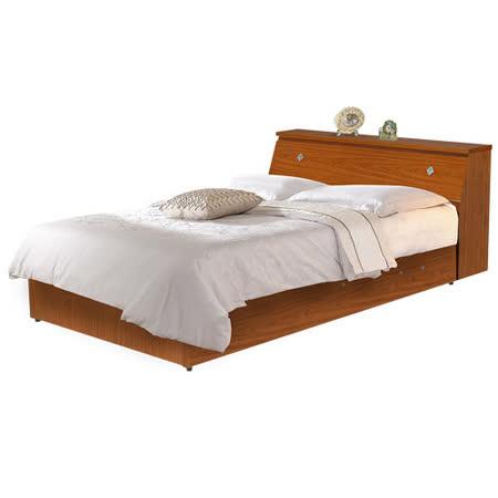 HAPPYHOME Terry3.5尺床箱型加大單人後掀床WG-4setb可選色