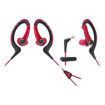 鐵三角ATH-SPORT1紅運動型耳塞式耳機