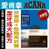 《加拿大ACANA愛肯拿~潔牙成犬~放養雞肉+低升糖燕麥》340g
