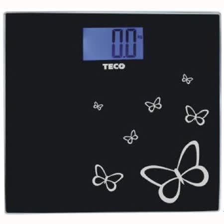 TECO 東元藍光時尚體重計 XYFWT486