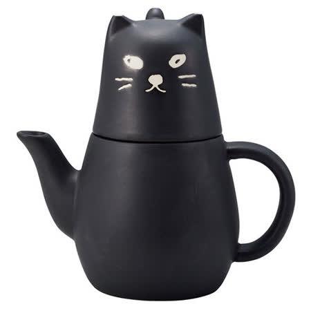 sunart 大黑貓 壺杯組