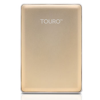 HGST優雅多彩高速硬碟2.5吋 7200轉-1TB TOURO S- 金