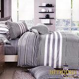 【BEDDING】愛戀心情 100%棉雙人涼被床包組