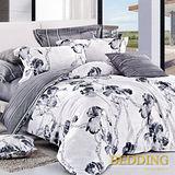【BEDDING】編織夢想 100%棉雙人涼被床包組