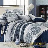 【BEDDING】戀戀時光 100%棉雙人涼被床包組