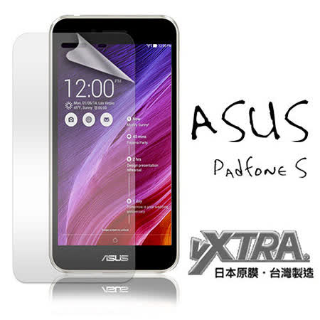 VXTRA 華碩 ASUS PadFone S PF500KL 手機用高透光亮面耐磨保護貼