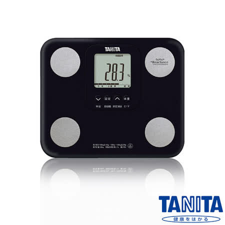 日本TANITA七合一羽量輕巧體組成計BC751-高貴黑