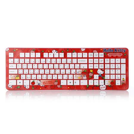 Hello Kitty巧克力鍵盤-愛蘋果