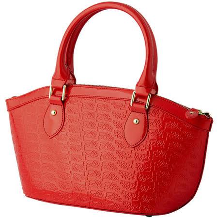 【真心勸敗】gohappy 購物網Folli Follie 亮皮手提包(紅)評價就是 愛 買