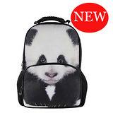 【DOUBLE JJ】3D動物15.6吋休閒後背包(貓熊)
