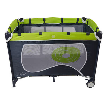 Nipper 雙層遊戲床(綠色)